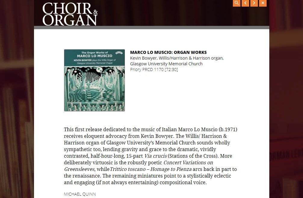 MARCO LO MUSCIO - Recordings e cd